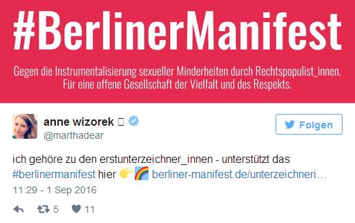 anne wizorek berliner manifest twitter